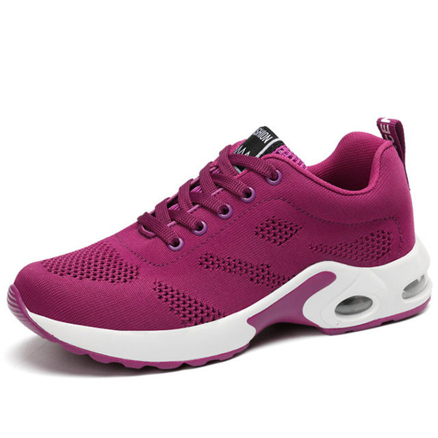 Seasons Running Sports Shoes For Women Outdoor Athletic Air Cushioned Girls Shoes