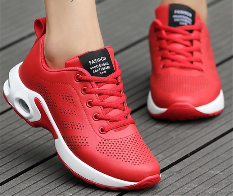 Air Cushioning Sport Running Shoes For woman ogging Walking Athletic Trainers