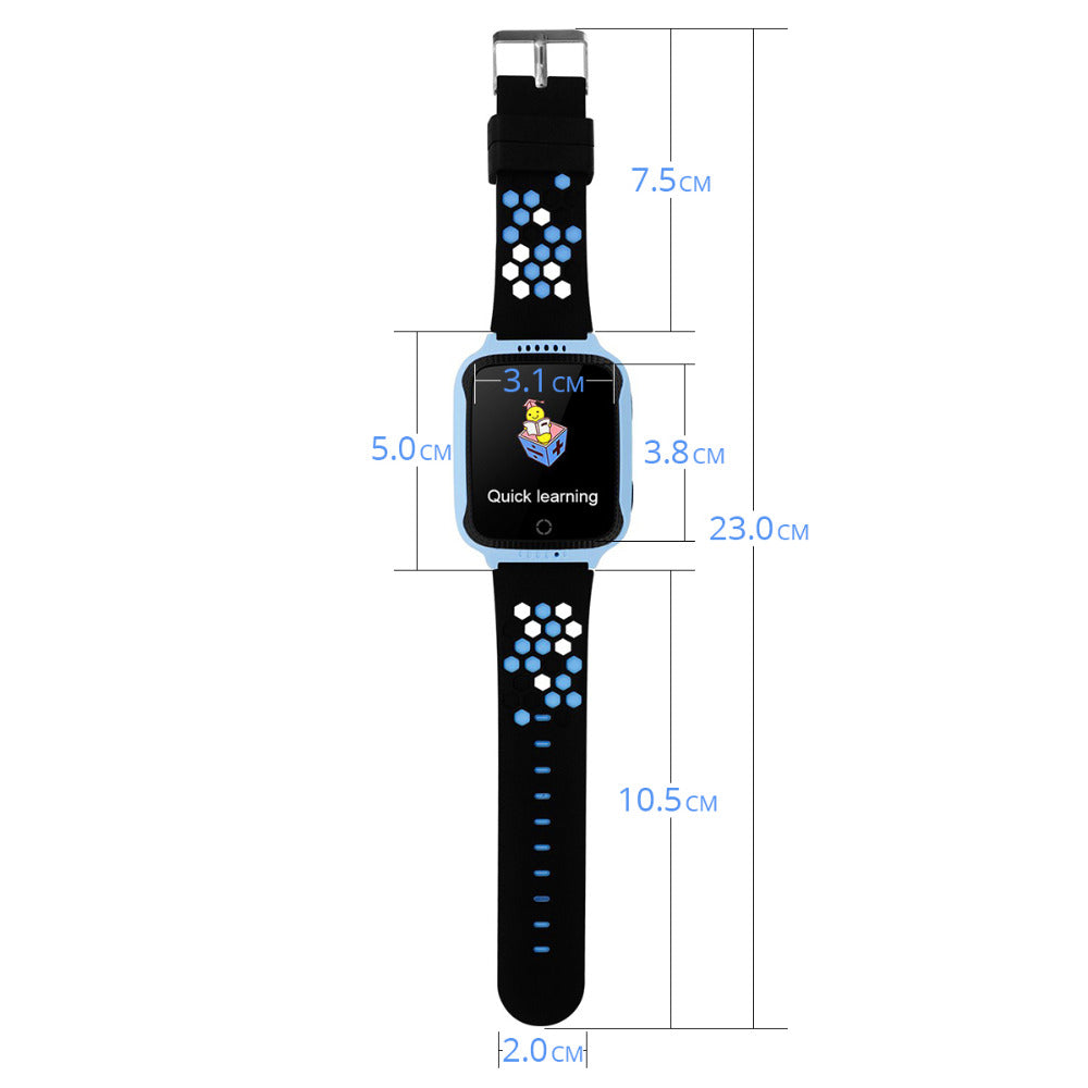 Kids Children Safety Smart Watch  1.44 inch GPS Tracker Anti-lost SOS Camera SIM Card Health Helper for Android IOS