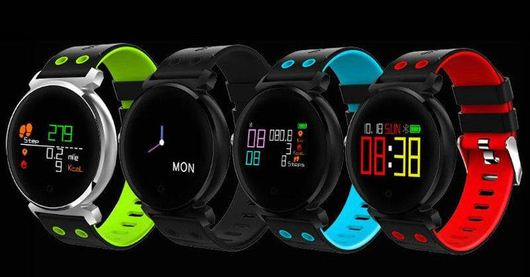 Waterproof Smart Watch Heart Rate Monitor Blood Pressure Blood Oxygen Detection Smart Bracelet Watch