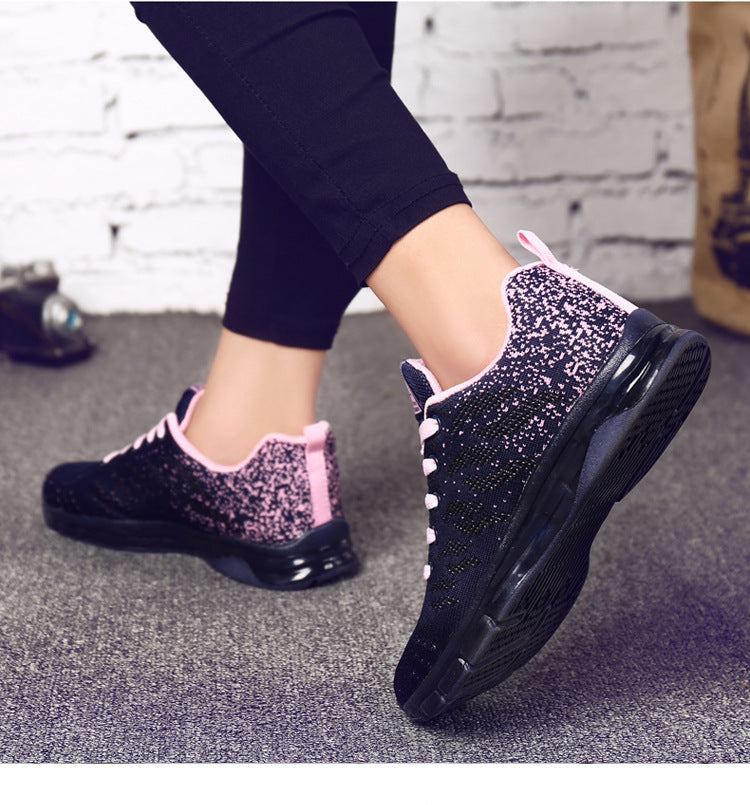 Womens Sports Shoes Sneakers Outdoor Running Trainers Athletic Air Cushioned Girls Shoe