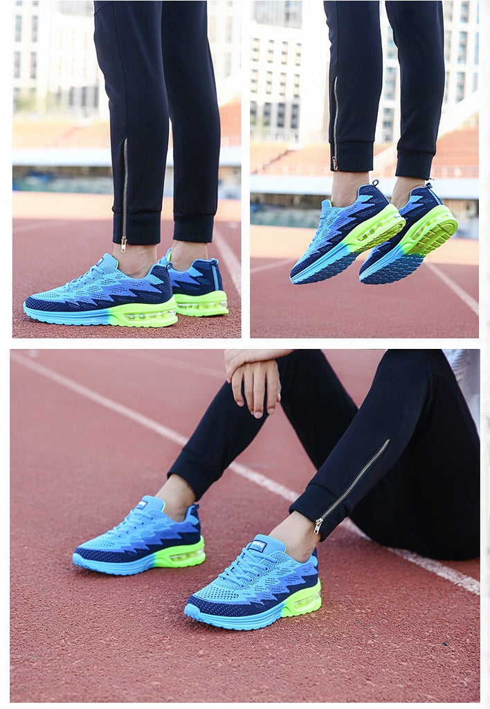 Ademas Breathable Gym Runner Athletic Jogging Outdoor Air Sneakers Shoes For Women in 8 Colors