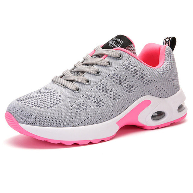 Running Air Cushion Sports Jogging Shoes For Women Seasons Sneakers Girls Walking Gym Athletic Shoe