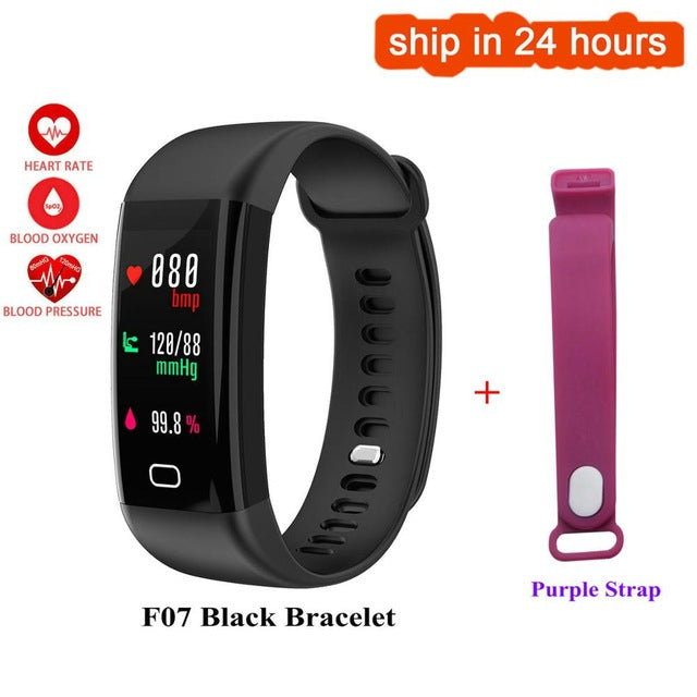 Sport Band Smart Watch Waterproof Heart Rate Monitor Fitness Tracker Blood Pressure For iOS Android