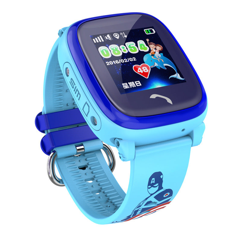 Kids Smart Watch GPS SOS Call Location Device Tracker Anti-Lost Monitor Waterproof Watch