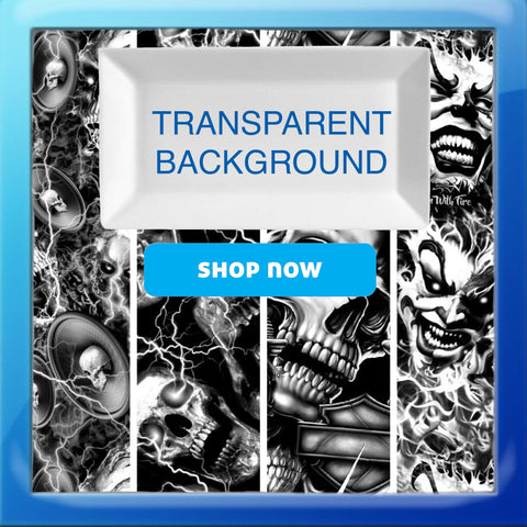 TRANSPARENT BACKGROUND HYDROGRAPHIC FILM