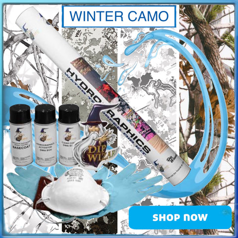 DIP WIZARD WINTER CAMO DIPKITS