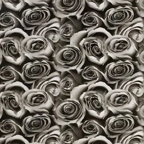 BLACK & CLEAR ROSES