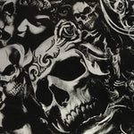 ROSE FROM THE DEAD SKULLS BLACK AND CLEAR - EXCLUSIVE