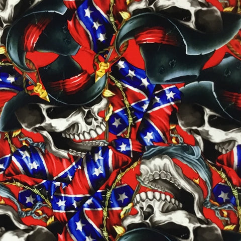 JOHNNY REBEL SKULLS