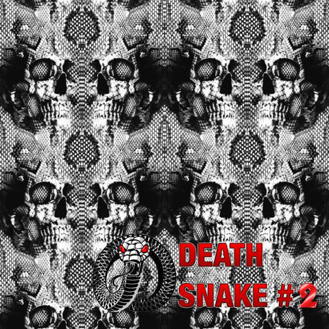DEATH SNAKE #2 RATTLESNAKE SKULLS - EXCLUSIVE