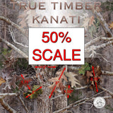 TRUE TIMBER KANATI 50% SCALE HYDROGRAPHIC FILM