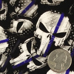 BLUE LINE TACTICAL PUNISHER POLICE SKULLS - EXCLUSIVE