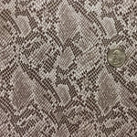MINI GRAYISH BROWN SNAKE SKIN