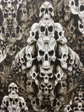 TEMPLE OF SKULLS HYDROGRAPHIC FILM  - EXCLUSIVE