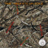 TRUE TIMBER HTC 50% SCALE HYDROGRAPHIC FILM