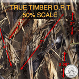 TRUE TIMBER DRT 50% SCALE HYDROGRAPHIC FILM