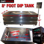 8' FOOT STAINLESS HYDROGRAPHIC WATER TRANSFER DIP TANK