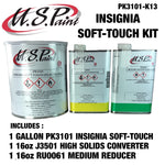 U.S PAINT Insignia SOFT TOUCH ® ES 9-17 LOW GLOSS CLEAR KIT