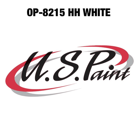 US PAINT DTP OP-8215 HH WHITE BASE COAT PAINT