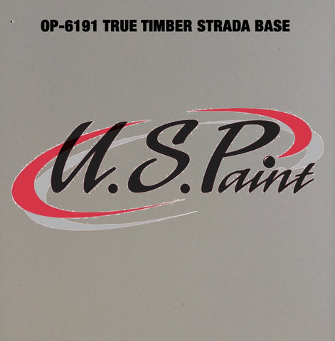 US PAINT DTP OP6191 TRUE TIMBER STRATA BASE COAT PAINT