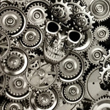 SWITCHING GEAR METAL SKULLS