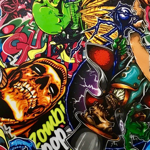 ZOMBIE POP STICKER BOMB