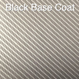 MINI SILVER/CLEAR METALLIC CARBON FIBER WEAVE