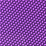 CANDIED PURPLE CARBON WEAVE