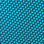 CANDIED BLUE CARBON WEAVE