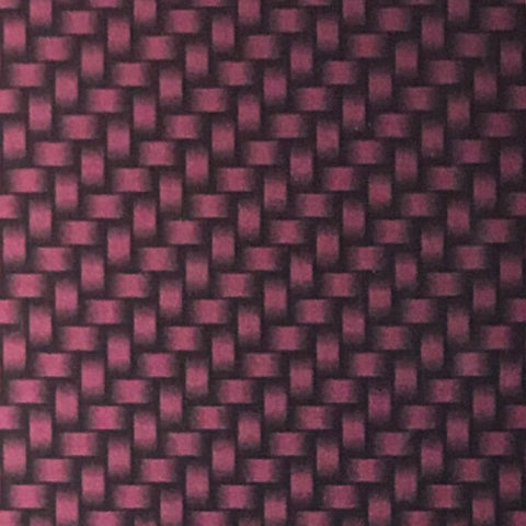 CANDIED DARK RASPBERRY PURPLE CARBON WEAVE