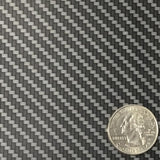 DIP WIZARD HYDROGRAPHIC DIP KIT MINI BLACK/SILVER METALLIC CARBON FIBER WEAVE