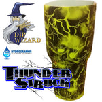 THUNDERSTRUCK SKULLS BLACK AND CLEAR - EXCLUSIVE