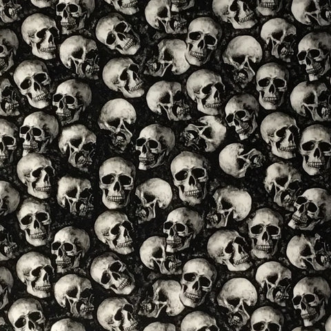 BLACK EYED MINI SKULLS