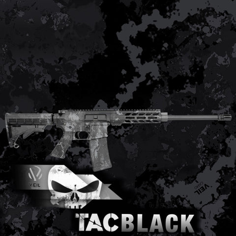 VEIL TAC BLACK HYDROGRAPHIC FILM
