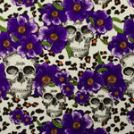 DIP WIZARD HYDROGRAPHIC DIP KIT PURPLE FLOWER CHEETAH SKULLS