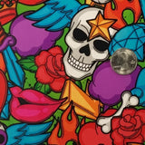 DIP WIZARD HYDROGRAPHIC DIP KIT CARTOON TATTOO SKULLS