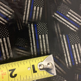 THIN BLUE LINE POLICE AMERICAN FLAGS - EXCLUSIVE