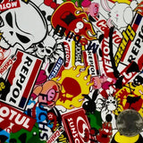 DIP WIZARD HYDROGRAPHIC DIP KIT STICKER BOMB 2 - RACING