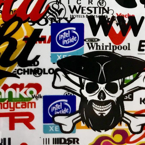 DIP WIZARD HYDROGRAPHIC DIP KIT STICKER BOMB #10