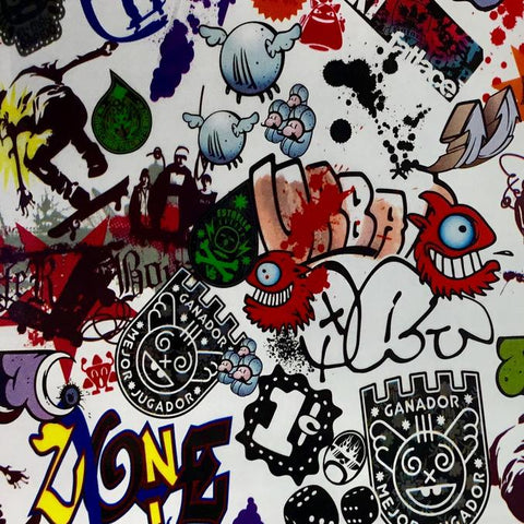 DIP WIZARD HYDROGRAPHIC DIP KIT GRAFFITI STICKER BOMB