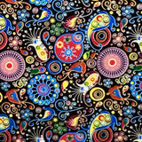 COLOR SPLASH PAISLEY