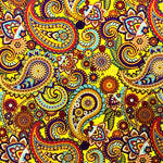 YELLOW PAISLEY