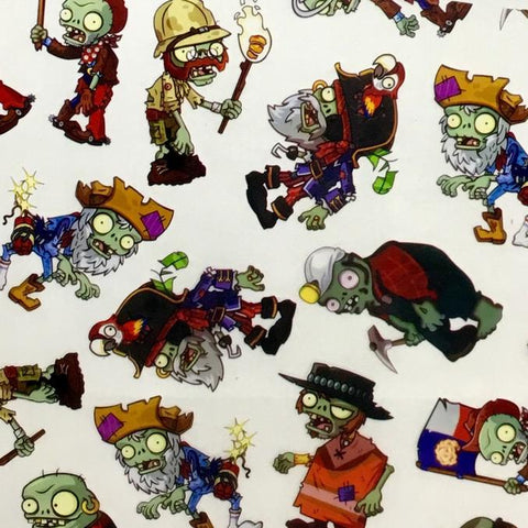 DIP WIZARD HYDROGRAPHIC DIP KIT CARTOON ZOMBIES