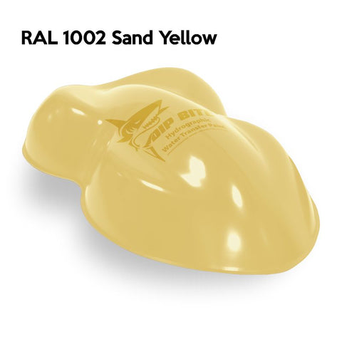 DIP BITE HYDROGRAPHIC PAINT RAL 1002 SAND YELLOW
