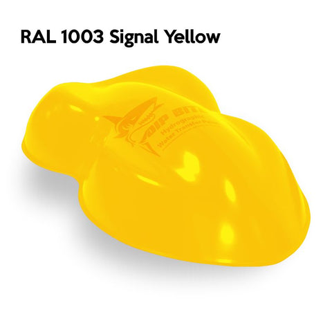 DIP BITE HYDROGRAPHIC PAINT RAL 1003 SIGNAL YELLOW