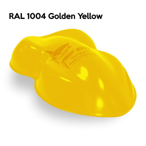 DIP BITE HYDROGRAPHIC PAINT RAL 1004 GOLDEN YELLOW