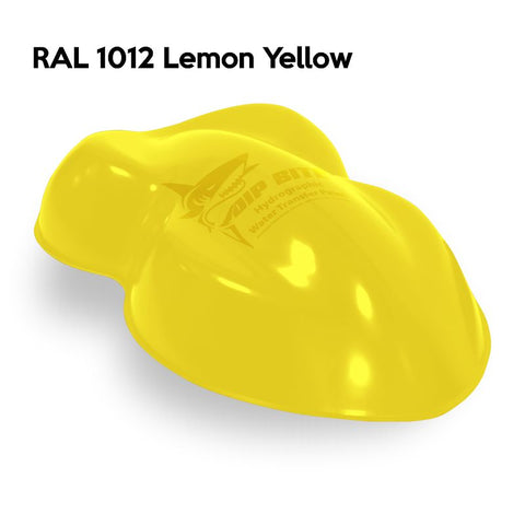DIP BITE HYDROGRAPHIC PAINT RAL 1012 LEMON YELLOW