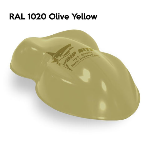 DIP BITE HYDROGRAPHIC PAINT RAL 1020 OLIVE YELLOW