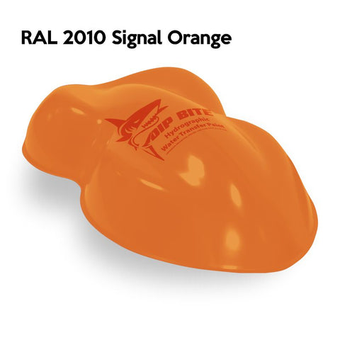 DIP BITE HYDROGRAPHIC PAINT RAL 2010 SIGNAL ORANGE